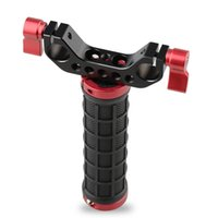 Wholesale Camera Stabilizer Rig - CAMVATE Single Mid-handle Handheld Camera Stabilizer Hand Grip Stabilizer Rod Clamp