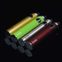 Evod Variable Voltage Battery с логотипом CE 650/900 / 1100mAh eVod Twist 3.3 ~ 3.7 ~ 4.2V VV Батареи против Vision Spinner eGo-C для MT3 CE4 H2