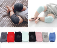 Wholesale Kids Padded Leggings - Baby Leggings socks Baby Knee Pads Crawling Safety Cotton Protector Kids Children Short Kneepad Baby Leg Warmers