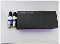 decodificador 12v venda por atacado-DC 12 V 24 V DMX512 Decodificador de 3 Canais 24A Controlador DMX para 3528 5050 5630 RGB CONDUZIU a Luz de Tira Módulo Lâmpada Rígida Bar Luzes CE ROSH