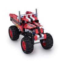 BIOZEA Building Toys Образовательный строительный строительный блок Crazy Truck SUV Car Toy Set 213 PCS DIY Assembly Technic Enlighten Children Toy