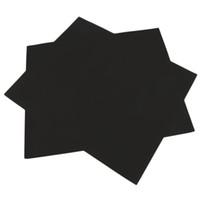 lençóis usados venda por atacado-Esteira da grade do BBQ para a folha da grade do assado Cozimento e cozimento e da fatia do forno de microonda da promoção do preto