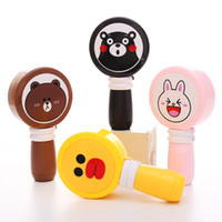 Wholesale Summer Cartoon Mini Fan Creative Handheld Small Fan New USB Charger Portable Fan S520
