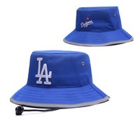 Wholesale Baseball Cap Bowls - New Caps 2017 Baseball Bucket Hats Team Dodgers Cheap Cap Blue Color Mix Match Order All Caps in stock Top Quality Hat