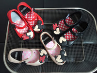 Wholesale Infant Wholesale Sandals - Mini Melissa Children's Jelly Shoes Girl's Mickey Minnie Mouse Rain Shoes Kids Baby Infant Toddler Sandals