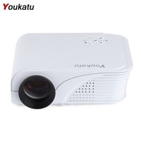 Wholesale Full Hd Dlp Projector - Wholesale- Youkatu S320 Mini LCD Projector 1800 Lumens 800x600 HDMI USB VGA AV PC Theater Multimedia Full HD Player for Business and Home