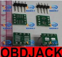 Wholesale Soic 8pin - Sop msop tssop soic sop8 lead-free DIP8 wide body narrow body adapter plate PCB 8pin