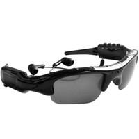 Wholesale Video Glasses Sunglasses Mp3 Player - Spy Eyewear Glasses Camera Hidden DVR DVR Sun Glasses Sunglasses Video Audio Recorder with MP3 Player with Retail Box