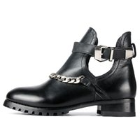 Wholesale B Sexy Photo - 2017 Women Boots Genuine Leather comfortable Ankle boots Sexy ladies Summer Boots Woman Real photos Sandals Box Packing Size 4-9