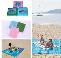 Outdoor Pads Mat 200 * 200cm Outdoor Picnic Camping Magic Mat grande colchão Waterproof Bags Beach Pads Almofada