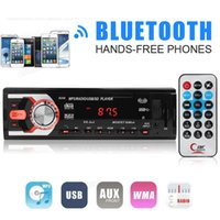 Wholesale Bluetooth For Car Radio - 8258 12V In Dash Handsfree Car Radio Stereo Bluetooth AUX SD FM USB MP3 for Samsung CAU_00E