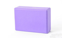 100PCS Yoga Block Pilates Brick High Density EVA Foam Exercício Studio Fitness Free DHL FEDEX envio 0001