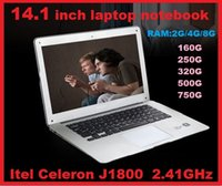 "Wholesale Lowest Cheap Laptop - DHL CHEAP LOW HOT 14"" 14 inch Dual Core laptop tablet pc 4G DDR3 500G Win7 Book j1800 j1900 Notebook Computer PC ultrabook laptops"