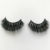 Wholesale fashionable hair styles - Wholesale- New arrival Fashionable style thick and full Mink eyelashes prevailing in market private label Mink strip lashes