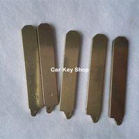 chave para honda venda por atacado-Lâmina de chave remota em branco NO.117 Para Honda Accord Crider Modificado Virar Lâmina Chave Remota com G palavras