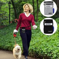 Wholesale Puppy Treats - Pets Dog Puppy Waist Pouch Training Walking Belt Bag Treats Dispenser Holder Pet Waist Bait Agility Bag OOA3193