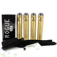 Wholesale E Cigarette Battery Carved - Carved Rogue Kit Come With Rogue Mechanical Mod and Rogue USA RDA fit 18650 Battery 4 patterns E Cigarette DHL Free