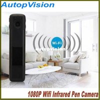 Wholesale Video Meetings - C11 Full HD 1080P Wifi Infrared Pen Camera Meeting Video Voice Recorder Mini DV Support TF Card   HDMI