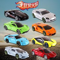 Wholesale Classic Miniature Toys - 30pcs metal car model classic antique collectible toy cars for sale hotwheels collection hot wheels miniatures scale cars models