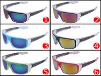 Wholesale Cheap Wholesale Women Coats - Brand Designer Sunglasses for man and Women Cheap Sunglasses Men Reflective Coating Square Sun Glasses Women outdoor 6 colors sun glasses