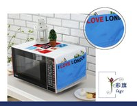 Wholesale Fridge Wash - new hot sale lovely design multifunction fridge and microwave oven cover storge bag pouch dust cover blanket