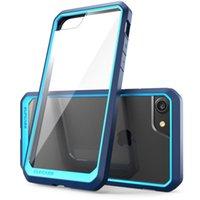 iphone жесткий защитник оптовых-Прочный двухслойный защитный чехол для iPhone 7 Plus Hard PC Задняя крышка с OPP-пакетом DHL SCA260