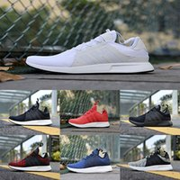 Wholesale Fashion Boots Online - Wholesale NMD X_PLR Running Shoes Ultra boost Triple Black white red grey blue Fashion men NMDS X PLR UltralBoost Sports Shoes cheap online