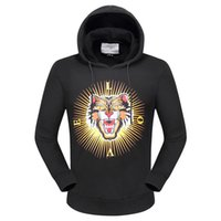 Wholesale Leopard Print Winter Hoodie - LOVE Leopard Hooded Hoodies Men Hip Hop Jumper Sweatshirts Long Sleeve Autumn Winter Women Sports Jackets Coats M-XXXL