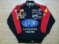 Wholesale Racing Jacket Coat - New F1 jacket auto racing moto gp motorbike driver windproof casual sport DuPont jacket coat