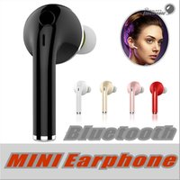 Wholesale Mini Stereo Bluetooth Handsfree - V1 Mini Wireless Stereo Bluetooth Headset Earphone Handsfree With Mic Headphones For iPhone 6 7 Samsung S7 S8 S6 Xiaomi and More Bluetooth H
