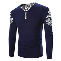 Wholesale Warm Sweater Size Xs - Wholesale- Mens Pullover Sweater brand clothing Autumn Dress sweater Floral Warm men's pullover Clothing Plus Size M - 4XL Black Navy Wine