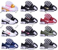 Wholesale Basketball Shoes Tn - 2017 Newest TN 2 II Running Shoes Men Women Cheap TN Air Classical Sport Sneakers Trainers Mesh Breathable Shoe 36-46