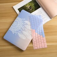 Wholesale Air Dream - Plastic Hard Case with Keyboard Cover for MacBook Air 13 11 Pro 13 15 Retina Display & Touch Bar New 12 Inch Dream Catcher