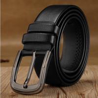Wholesale Gold Chain Belts For Women - 2158121018 new hip brand buckle designer belts for men women genuine leather gold cinto belt Men's
