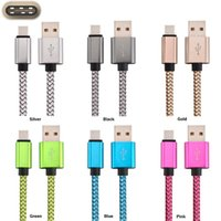Wholesale Pro Data - 1m 2m 3m 10FT Braided Fabric Type C Usb Data Sync Charging Cable for Nokia N1 Letv max Pro Xiaomi Mi4c