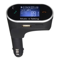 FM Transmitter LCD Car Kit MP3 Player Wireless Modulator mit LED Display USB Ladegerät Handsfree + Remote für Smart Phone