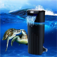 Wholesale Hanging Aquarium Filter - Free Shipping !!! Low Water Fresh Internal Hang On Aquarium Fish Turtle Reptile Tank Power Filter Your Best Choice