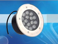 Wholesale W Underground Round Led Outdoor light Led landscape light waterproof super bright flood light LLFA