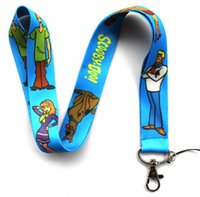 For Apple cartoons scooby doo - Mixed Popular Cartoon Scooby Doo Mobile phone Lanyard Key Chains Pendant Party Gift Favors