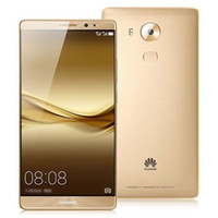 "Wholesale Cdma Glass Back - Original Huawei Mate8 Mobile Phone Kirin 950 Octa Core 4GB RAM 64GB 128GB ROM Android 6.0 6.0"" 2.5D Glass 16.0MP Fingerprint ID Smart Phone"