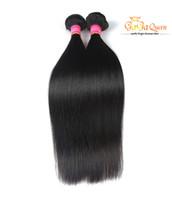 Wholesale human hair wholesale companies - wholesale 4Pcs Lot Straight Brazilian Virgin Hair Grace Hair Company Mink Brazilian Straight Human Hair Extension 8A Braizlian Free Shipping