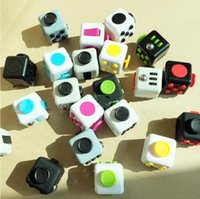 Wholesale Popular Science - Newest Popular Decompression Toy Fidget cube the world's first American decompression anxiety Toys 12 Colors Fast Shipping Free DHL