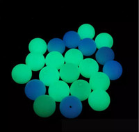 Wholesale Luminous Beads mm mm mm mm mm Glow in the Dark Round Fluorescent Stone Beads Bracelet Necklace Loose Beads
