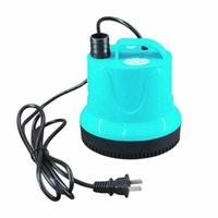 Wholesale Mini Hot Water Pumps - AST-DL Mini Portable 40W 60W Large Flow Water Pump Bottom Suction Type Cylinder Water Pump Household Equipment Hot New