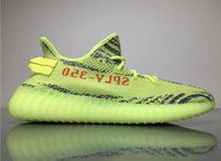 Wholesale Tinted Pvc - Boost 350 V2 Semi Frozen Yellow Raw Steel Sply 350 Beluga 2.0 Blue Tint Grey Three Hi-Res Red B37571 Kanye West B37572