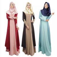 Wholesale Dubai Women Clothing - Abaya Turkish Women Clothing Muslim Dress Islamic Jilbabs and Abayas Musulmane Vestidos Longos Turkey Hijab Clothes Dubai Kaftan Longo Giyim