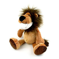 Wholesale Nici Plush Toys - 23cm 1pc NICI Toy Genuine Lion Stuffed Doll Plush Toys High Quality Best Gift For Children Free Shipping