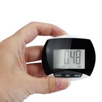 contador de calorías para trotar al por mayor-Venta al por mayor - 3 en 1 impermeable LCD Run Step Podómetro Distancia a pie Calorías Step Counter Fitness Run Motion Counter Podometer # FC21