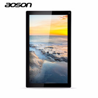 tableta china g al por mayor-Al por mayor-Aoson M1016C 10.1 pulgadas Tablet PC Android Tab Allwinner A33 Quad Core 1G 8G Dual Cámaras Android 4.4 chino Tablet Free Shippi
