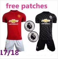 Wholesale Cheap Athletic Shorts - 17-18 Top Quality Customized 6 pogba Jersey KIT 2017 top futbal Jerseys Shirts Tops,Cheap discount Popular Athletic Outdoor Soccer Wear